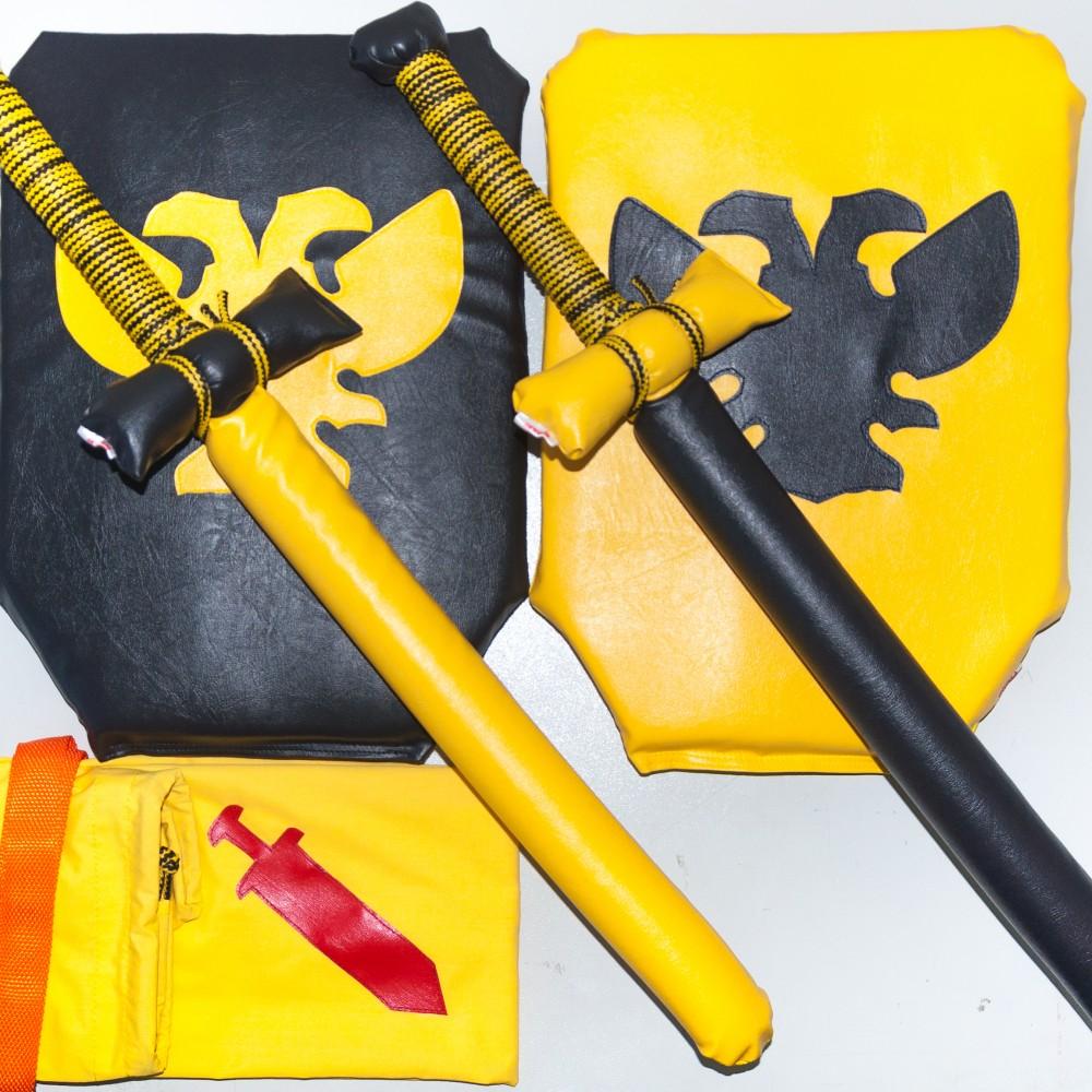 Рыцарский набор Чёрно-Жёлтый
