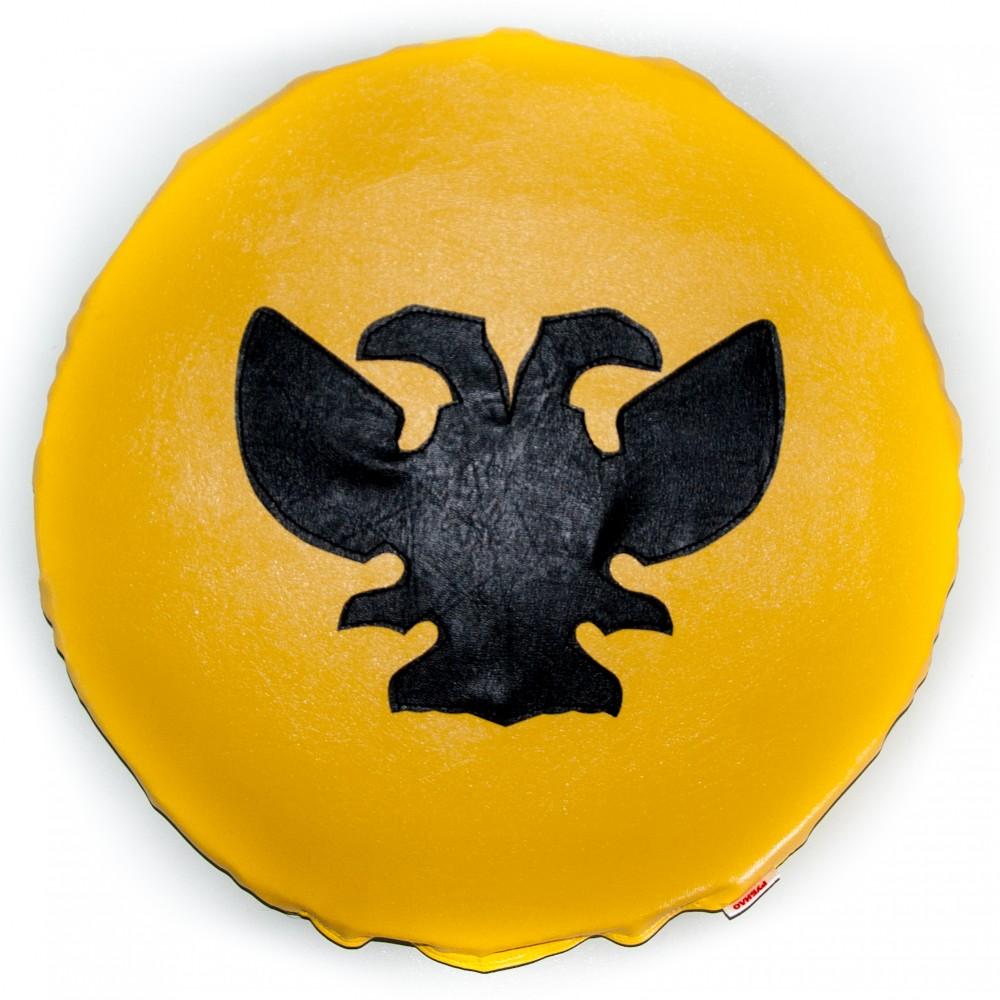 Щит круглый Желтый