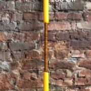 Шест Бо 100 см Жёлтый - копия
